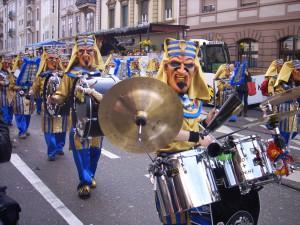Basler Fasnacht 2011: Larven und Kostüme
